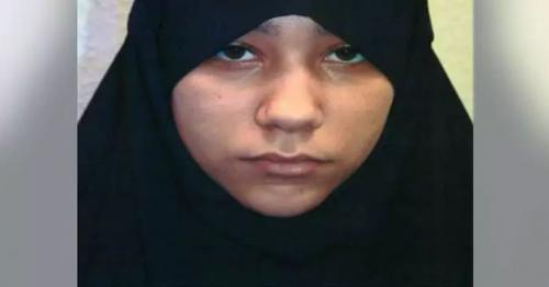 18-yr-old becomes Britain's youngest convicted female ISIS terrorist