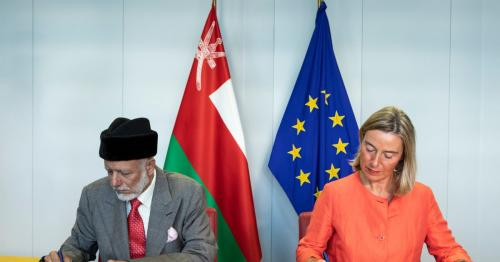 Oman signs a Cooperation Arrangement with EU