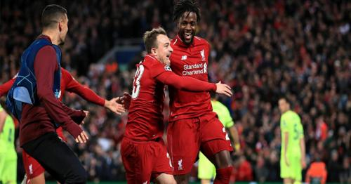 Liverpool stun Barca 4-0 to complete incredible fightback, enter final