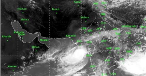 Cyclone, Vayu, Oman