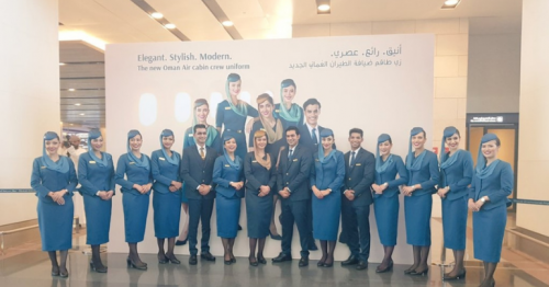 Oman Air, Uniform, Cabin crew