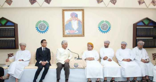 Oman Chamber of Commerce and Industry ,businessmen meet,Omani businessmen ,Thai businessmen