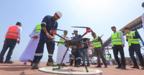 Drones, Sohar Port, Oman