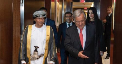 UN chief praises His Majesty's regional peacekeeping efforts, latest Oman news, Muscat news, Current Oman News