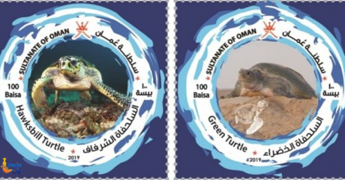 Oman Post celebrates the Sultanate's rich biodiversity with launch of 5 turtle stamps