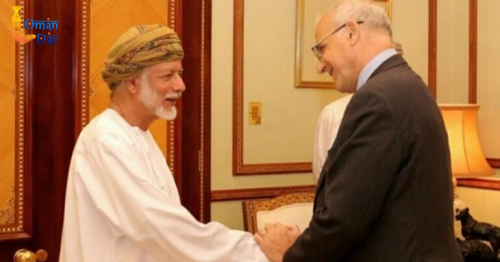 UK diplomat calls on Oman's Foreign Minister