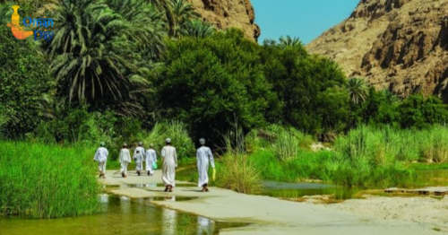 Travel Oman: Spectacular views of Wadi Bani Khalid