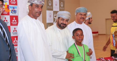 Mitsubishi Oman Handball School tournament begins