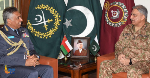 Oman armed forces commander meets Naval chief