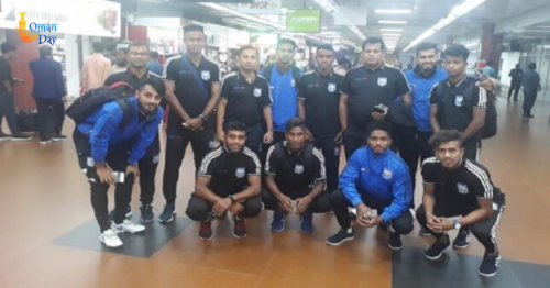 Booters reach Oman to play FIFA, AFC qualifier