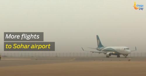 More flights to Sohar