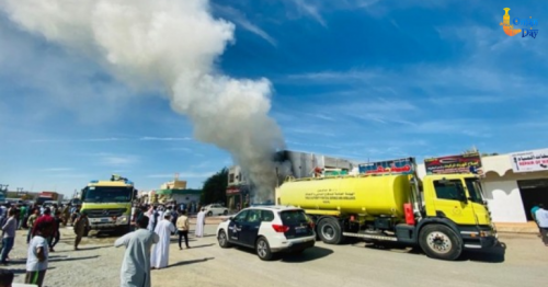 Firefighters douse blaze at store in Oman