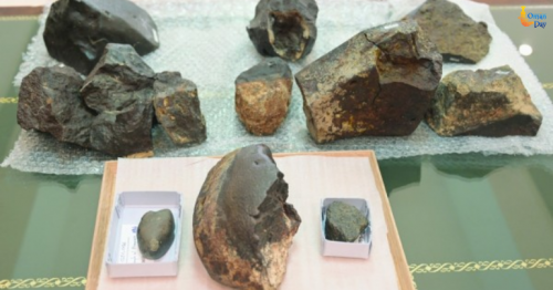 First batch of Omani meteorites returns from Switzerland
