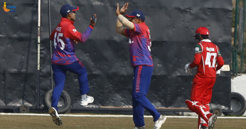 Oman Beat Nepal in ICC World Cup Cricket League Two Tournament