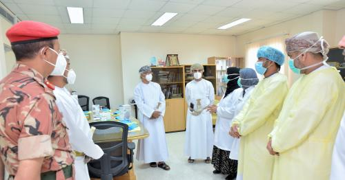 Members of Covid-19 Supreme Committee Visit Health Facilities