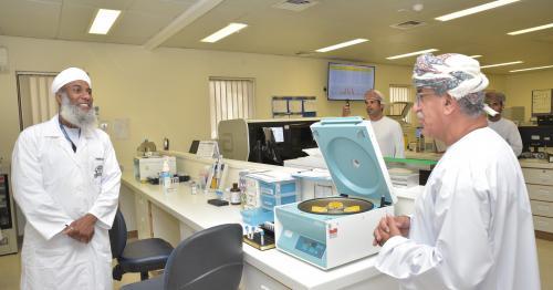 Health Minister Visits Royal Hospital