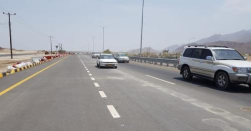 Ministry of Transport opens Barka-Nakhal dual carriageway