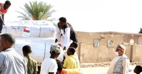 Oman continues to provide relief material to Sudan