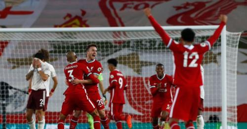 Liverpool beat Arsenal 3-1 at Anfield