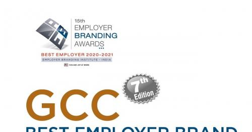 Raysut Cement Company Scoops awards at Oman & GCC Best Employer Brand Awards 2020