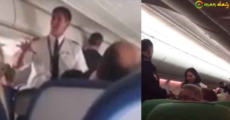 Fight Breaks Out Mid-Air On A Plane After A Passenger Can't Stop Himself From Farting
