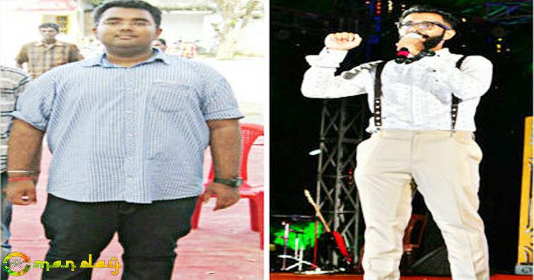 Weight loss: This guy followed this NEW kind of diet and lost 54 kilos!