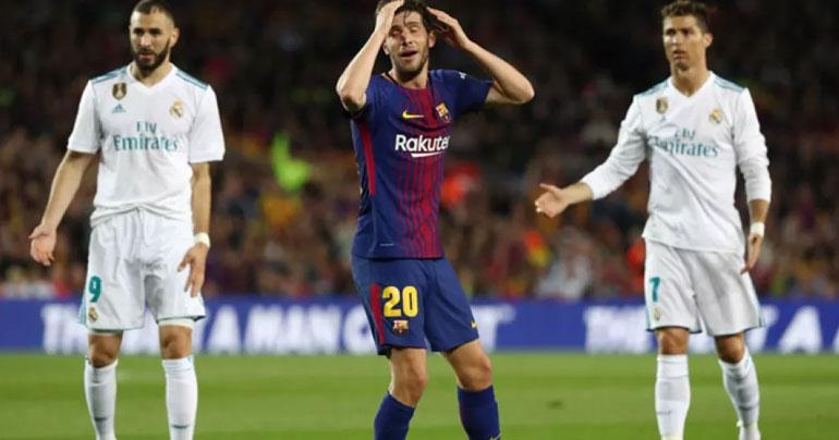 Barcelona's Sergi Roberto banned four games,Here is why