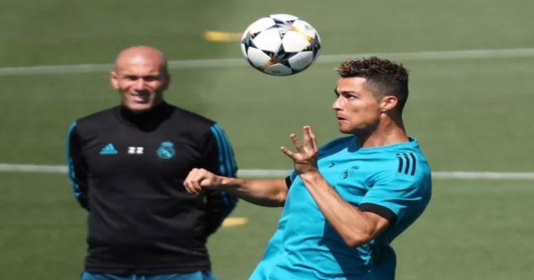 Real Madrid boss Zinedine Zidane praises Cristiano Ronaldo