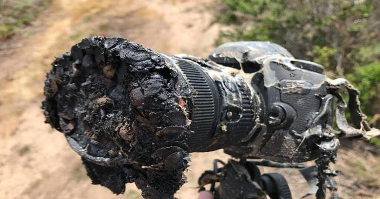 NASA camera melted during a rocket launch, but it's not what it seems