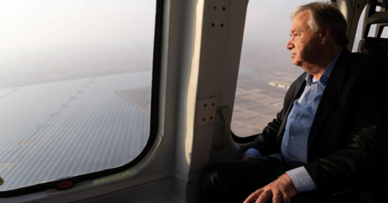 world's largest single solar project,Noor Abu Dhabi, Abu Dhabi