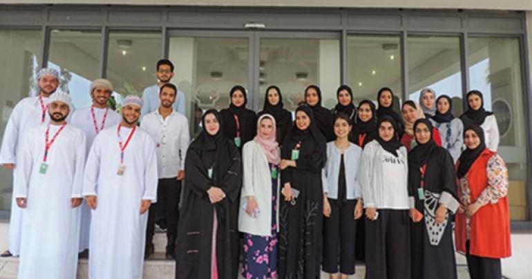 Oman Marketing Company, Annual Summer Internship Programme, On-Job Training and development opportunities for Omani Students, latest Internship news, Shell hosts Omani Interns for Summer Internship