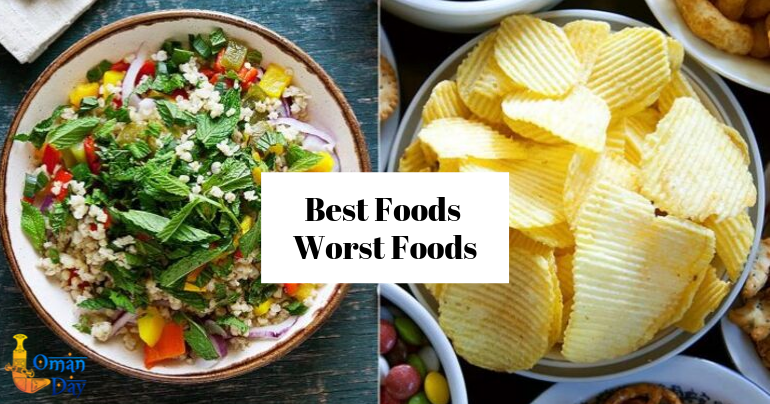 Health tips, best and worst foods for Acne-prone skin, Food for skincare, Skin Care Tips, Oman Day blog, Health blogs in Oman