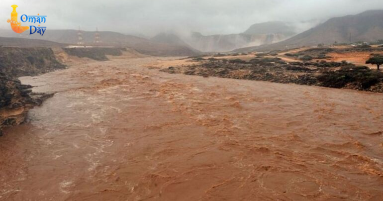 Heavy rains over parts of Oman