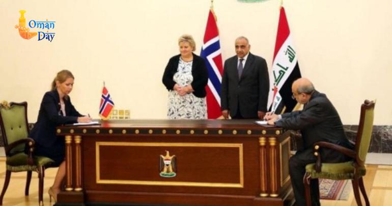Norway's PM visits Baghdad to boost ties