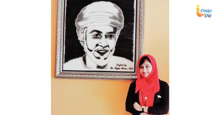 Muscat: Mangalurean dentist Dr Hafsa Banu is unique artist in Oman