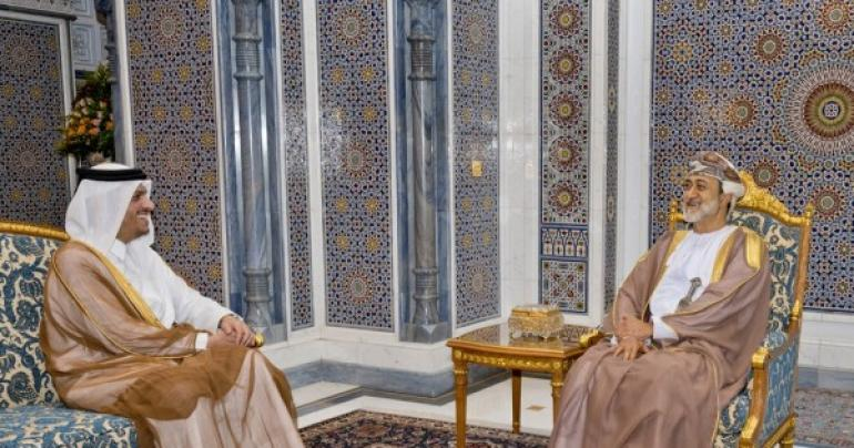 His Majesty gives audience to Qatari Deputy Prime Minister