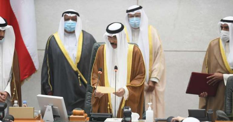 His Highness Sheikh Nawaf Al Ahmad takes oath as Kuwait's 16th Emir