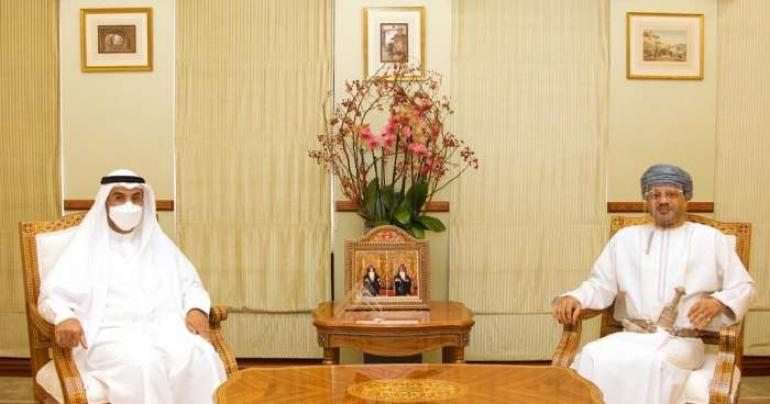 Minister of Foreign meets GCC Secretary-General